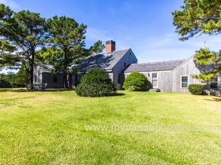 RUNYW - Waterview Upper Makonikey Home,  Distinctive Design by Royal Barry Wills, Two Private Association Beaches, Central A/C, Vineyard Haven