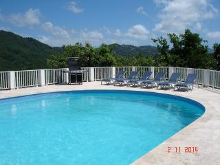 STUNNING VILLA AND POOL WITH SPECTACULAR VIEWS OF MARIGOT BAY