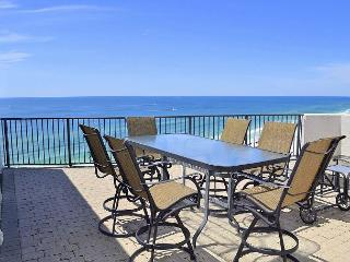 Penthouse Gulf condo with a huge private terrace balcony to relax and tan on!
