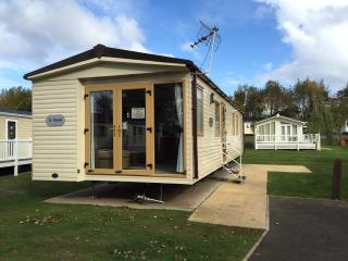 3 bed caravan at award winning Haggerston Castle