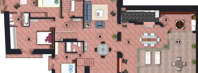 Can Felip Apartment 1_Floor Plans / Planos