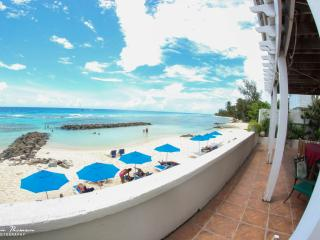 1 bedroom beachfront apartment in Barbados