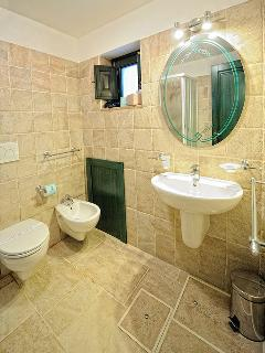 Bathroom on the lower floor