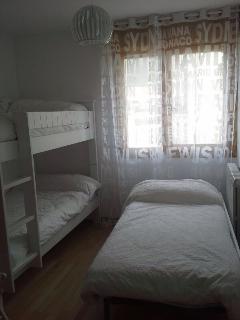 segundo dormitorio tres camas
