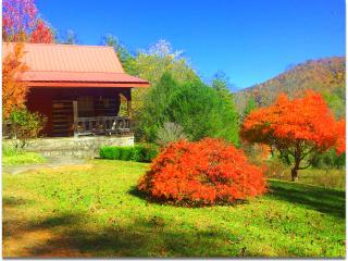 Smoky Mtn. Retreat-- Log Cabin--Vacation Rental-Lo, Robbinsville