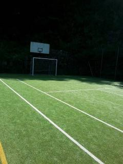 soccer pitch of residence