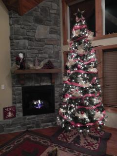 Decorated for Chistmas