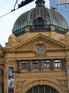 Flinders Street Station Melbourne CBD
