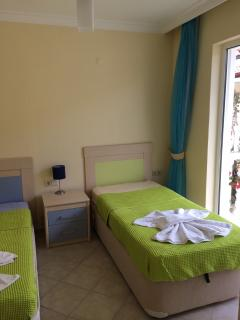 Bedroom 3 with sea & mountain view, en-suite and balcony!