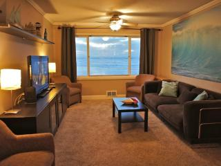 The oceanside suite is comfortable and relaxing