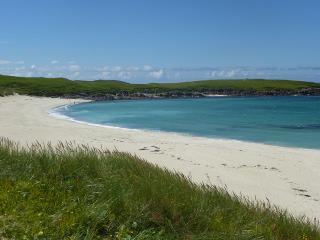 A private island (the isle of Ronay, Scotland)