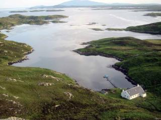 A private island (the isle of Ronay, Scotland), North Uist