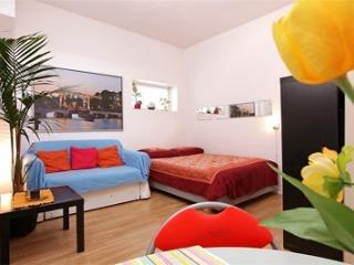 Very bright, warm & private 2 rooms apartment B&B in Flower market / Spui / area
