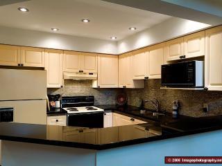 Newly-renovated kitchen