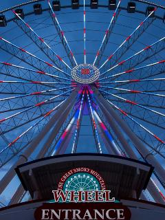 Sky Wheel At Beale Island 3 Mile From Bears Den