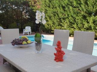 Pool table & seats