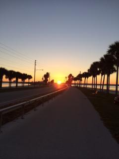 Sunrise on the Causeway