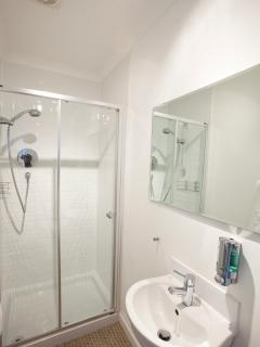 En-suite shower room - photo courtesy of Global Warming Images