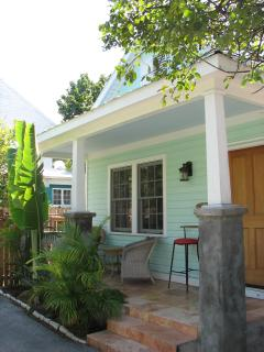 Nice front porch on Peaceful Lane