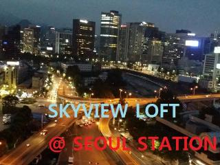 At Seoul Station SkyView withWIFI, Séoul