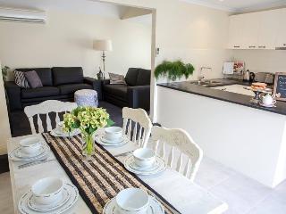 Open plan kitchen living area
