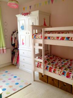 Third Bedroom - with bunk beds