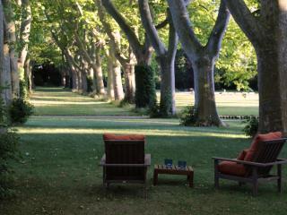 Vue du parc de la Suite de la Bastide