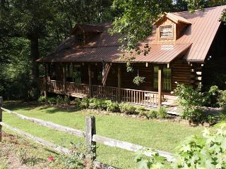 Magical Log Cabin on 2 Acres of Creek Front, Sautee Nacoochee