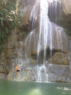 Las cascadas at nearby town of san sebasitan.