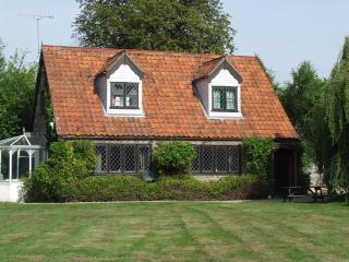 Riverside Cottage side view