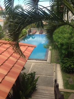 View of pool and Lanai