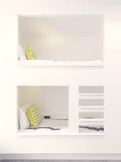 Pod style bunks