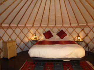 Romantic Yurt Balcón de Andaluz in Algarrobo