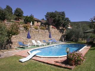 Col di leccio, beautiful panoramic stone cottage