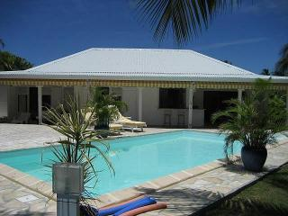 Location Villa Guadeloupe pour 6 personnes avec piscine en bordure de plage, St. François