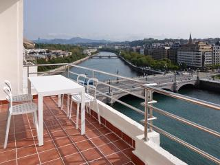 Okendo Terrace - Great terrace, next to the beach, San Sebastián - Donostia