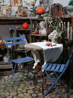 Gäste-Freisitz im Galeriehof mit ArtCafe