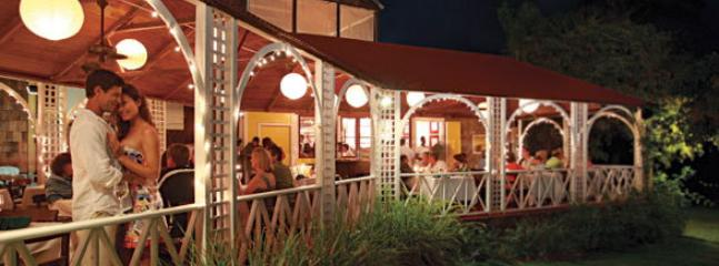 Visit an old Plantaion hotel on St. Kitts or Nevis for lunch or dinner during you stay. Hermitage.