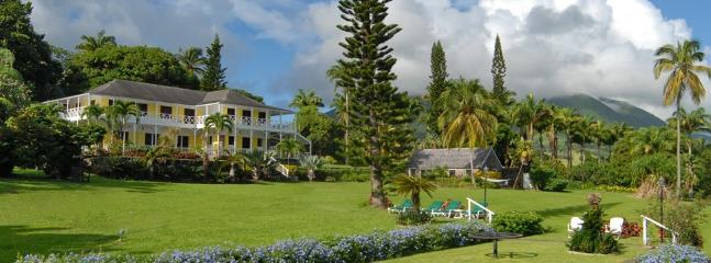 Visit an old Plantaion hotel on St. Kitts or Nevis for lunch or dinner during you stay. Ottleys.