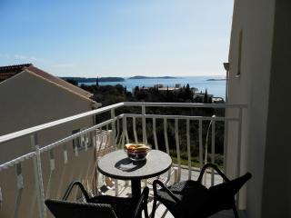 Villa Samba- One-Bedroom Apartment with Balcony and Sea View Aprt. 6 (2+2), Plat