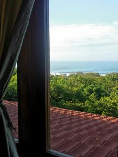 View of the surf from upstairs bedroom #2