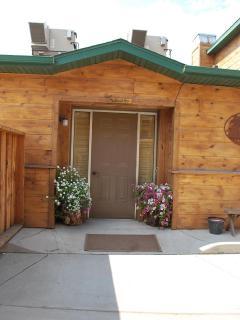 Lodge- Studio entrance