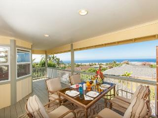 Ocean view with Private Salt Water Pool - 4 Bedroom 4 Bath, Ohai House-PHOhai, Kailua-Kona