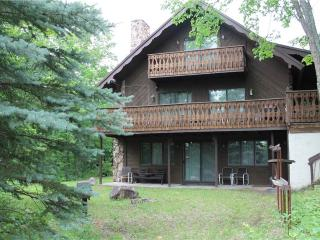 Located at Base of Powderhorn Mtn in the Western Upper Peninsula, A Large Trailside Home with 2 Large Fireplaces, Ironwood