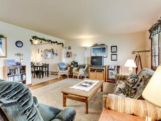 Dog-friendly, charming coastal condo near the sandy beach!, Newport