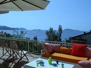 Beautiful seefront villa, pool and tremendous view