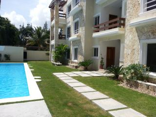 Modern 2bedrooms condo at literally 50 meters from the whiee sand beach of Bavaro