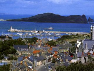 Beautiful Dublin suburb of Howth , a fishing village in the city !