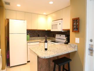 Fully Stocked Kitchen with Granite Counters appliances