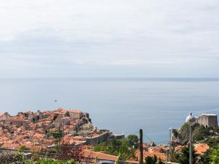 Charming  view Old Town and sea, Dubrovnik